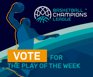 Basketball Champions League - Play of the Week feature