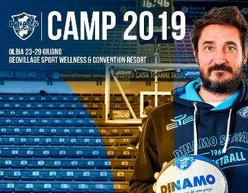 Dinamo Camp 2019 - Locandina