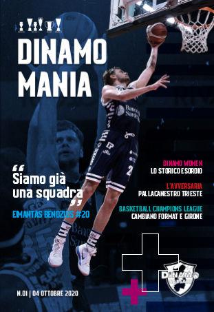 Dinamo Mania - House Organ 01 - 04 ottobre 2020