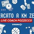 Live coach pozzecco