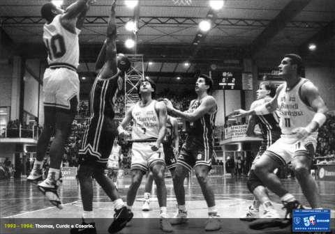 Curcic, Thomas e Casarin nella stagione 1993-94