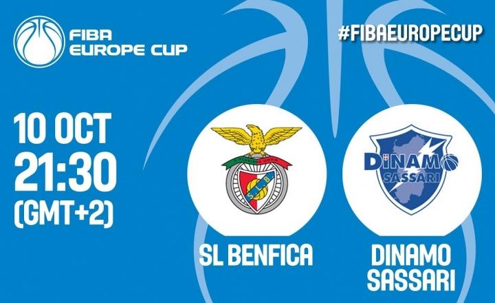 SL Benfica (POR) v Dinamo Sassari (ITA)