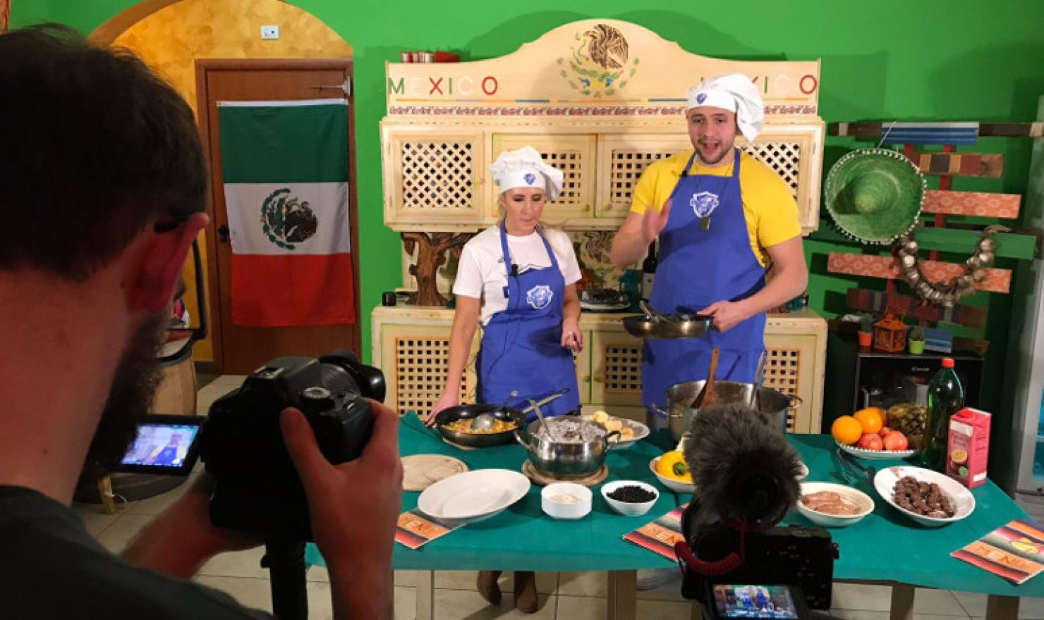 """Questa sera alle 19:30 su Dinamo Tv """"In cucina con Tavernari ..."""