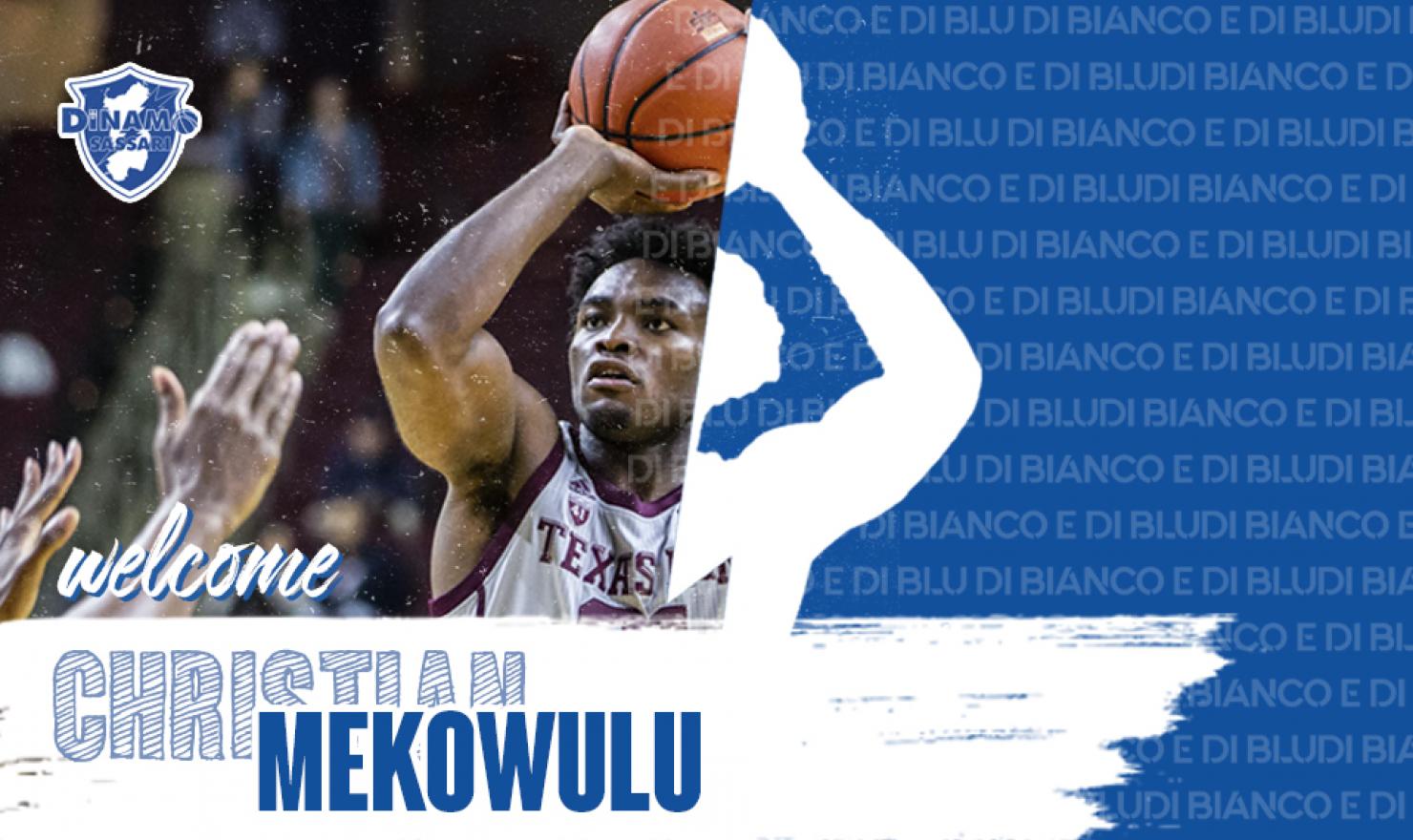 Sassari, il nuovo centro è Christian Mekowulu