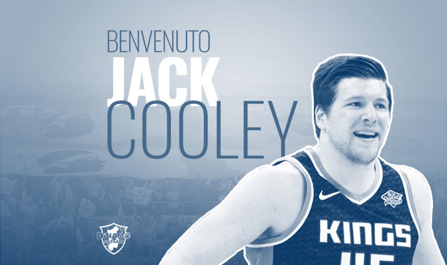 La Dinamo Banco di Sardegna ha annunciato stamane l'arrivo del centro statunitense Jack Cooley.