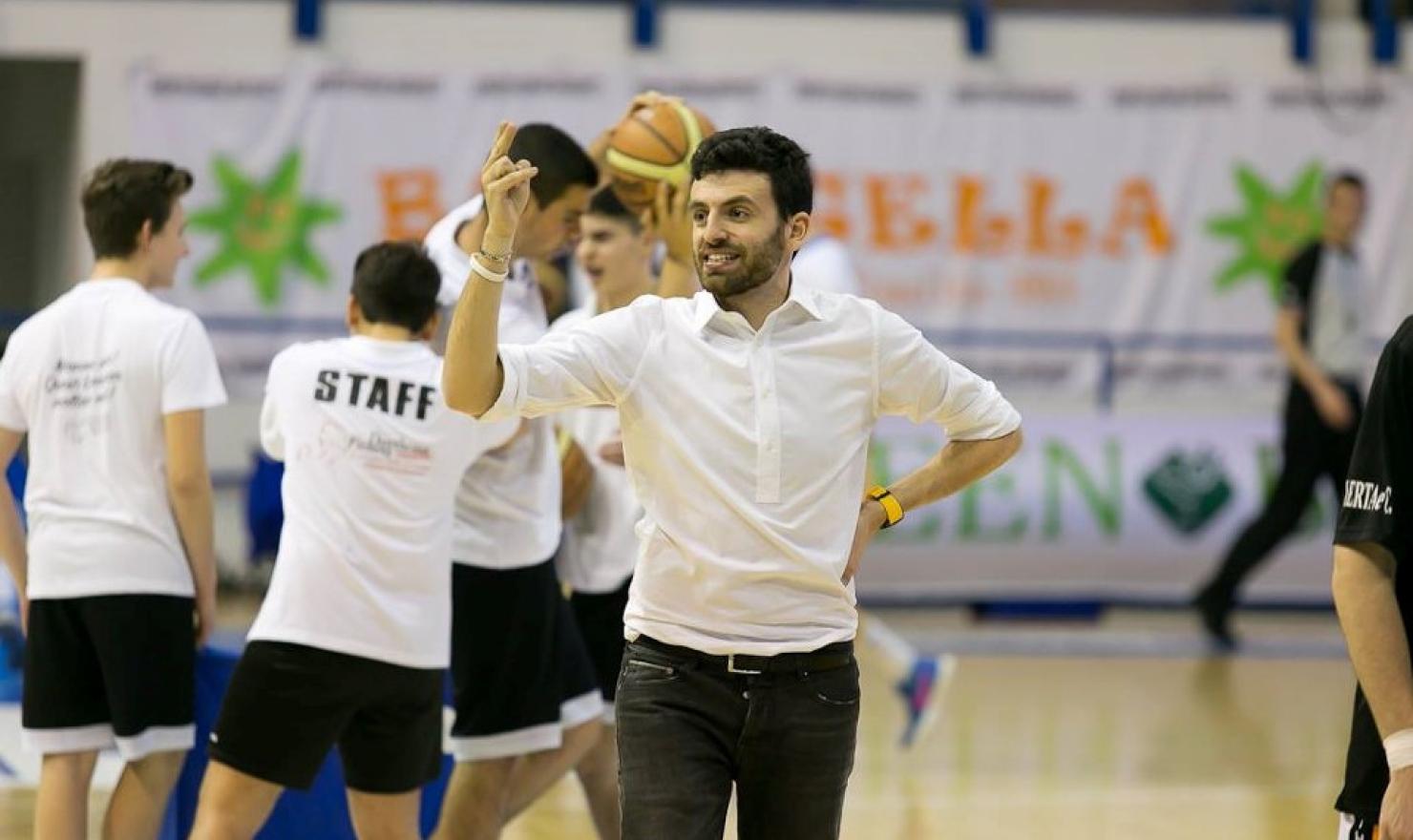 Edoardo Casalone è il nuovo assistant coach della Dinamo Banco di Sardegna.