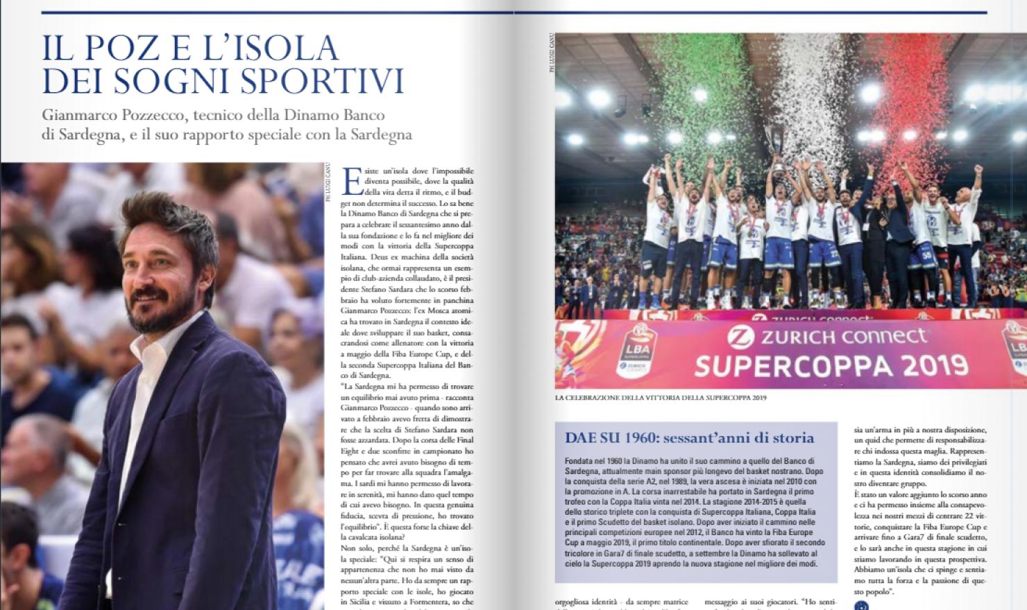 Il Poz E L Isola Dei Sogni Sportivi Dinamo Sassari