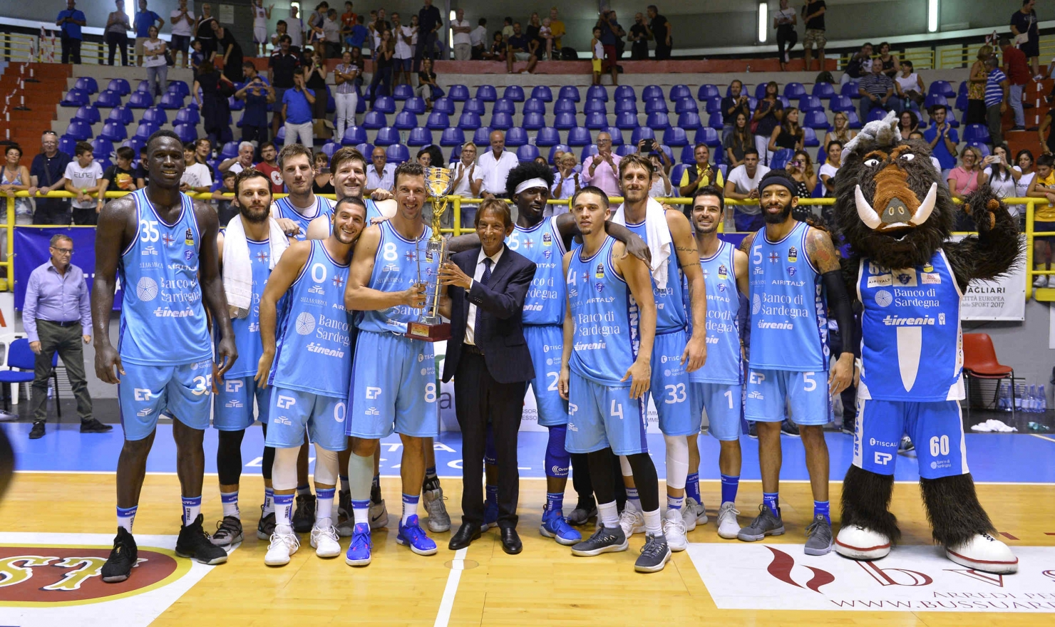 La Dinamo ha superato il Limoges per 73 a 65 e si è aggiudicata per il 2° anno consecutivo l'International Tournament City of Cagliari.
