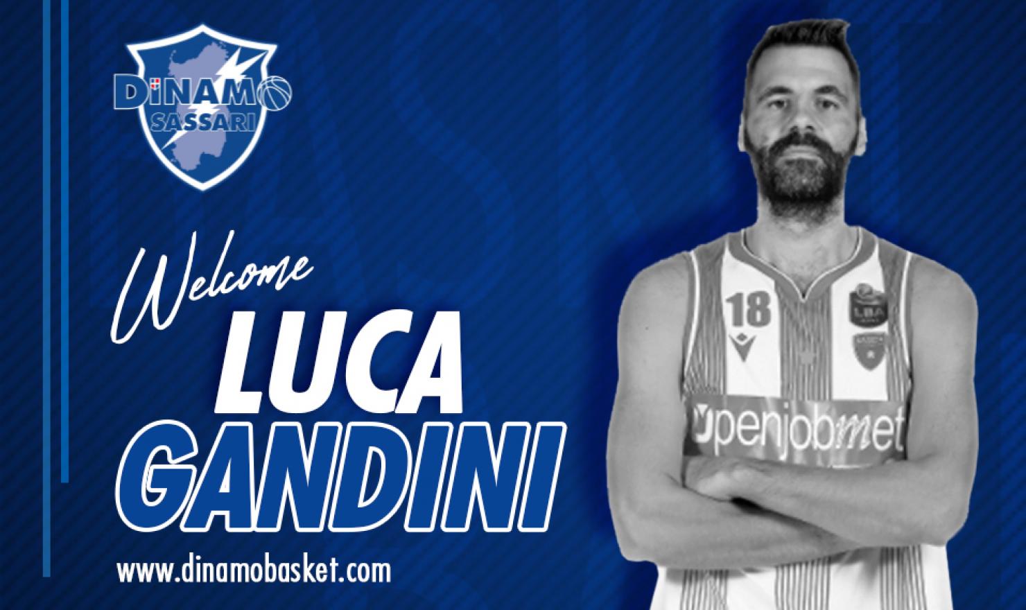 La Dinamo Sassari ufficializza Luca Gandini