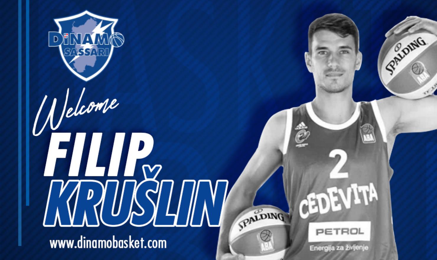 Ufficiale: Filip Kruslin è della Dinamo Sassari